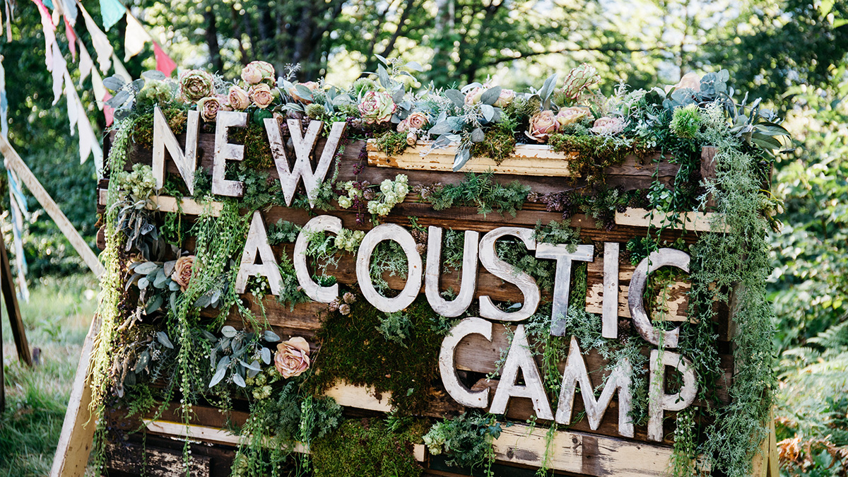 AIGLE New Acoustic Camp取材